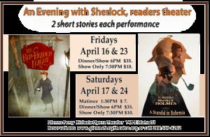 Sherlock Mystery Series @ Historic Opera Theater | Glenns Ferry | Idaho | United States