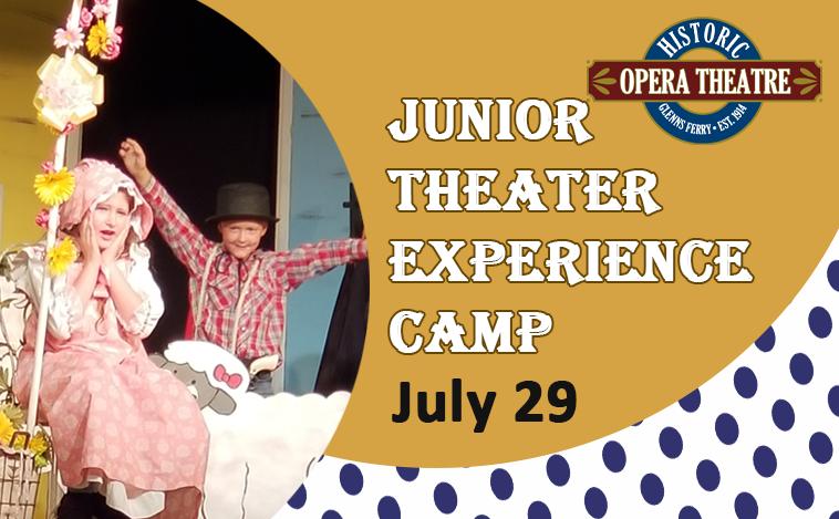 Junior Theater Experience Camp @ Historic Opera Theater   Glenns Ferry   Idaho   United States